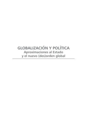 ORDEN GLOBAL Andrés Felipe Mora Cortés