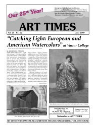"""""""Catching Light: European and American Watercolors""""at ... - Art Times"""