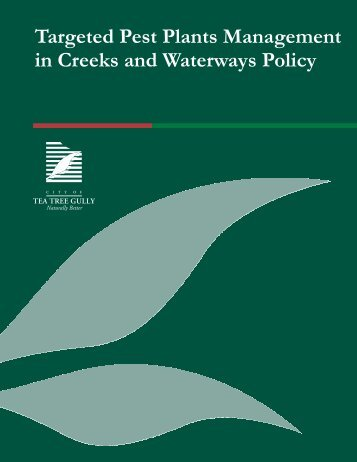 Targeted Pest Plants Management in Creeks and Waterways Policy