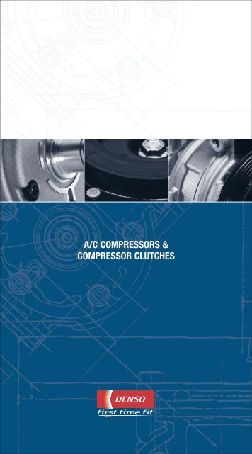 a/c compressors & compressor clutches - MOTOR Information Systems