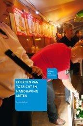 effecten van toezicht en handhaving meten - Inspectieloket
