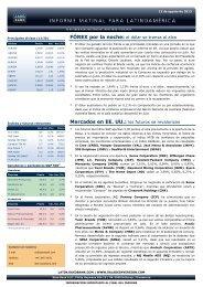13/08/2013 Informe diario de mercados de Saxo Bank