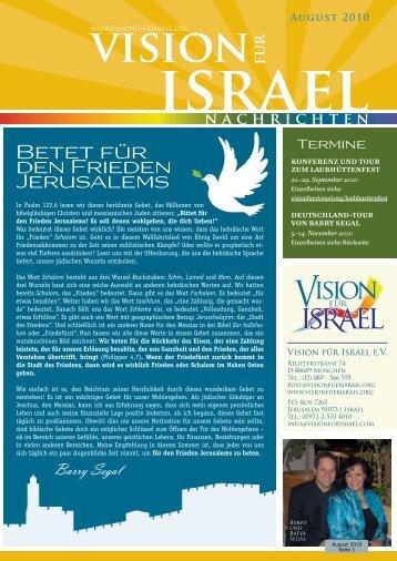mit Bildern in Monitorqualität - 400 kByte - Vision für Israel
