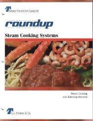 Complete Line of Roundup Steamers (PDF) - Dvorsons