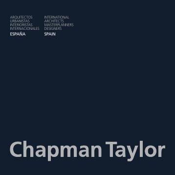 ESPAÑA SPAIN - Chapman Taylor