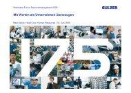Mit Werten als Arbeitgeber - Bodensee-Forum Personalmanagement