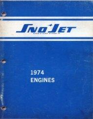 1974 Engines - Vintage Snow