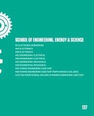 School of ENGINEERING, ENERGY & ScIENcE - City of Glasgow ...