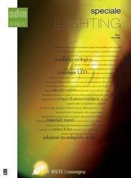 Scarica il file PDF dello Speciale Lighting - A+D+M Network