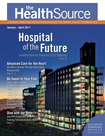 January - April 2011 - Palomar Health
