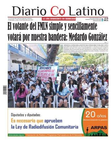 Edición 10 de Noviembre de 2014