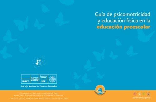 Educaciã³n En Fãsica De La Y Guãa Conafe Psicomotricidad nm8yv0ONw