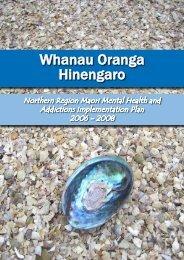 Whanau Oranga Hinengaro - Network North
