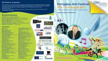 Terryglass Arts Festival - North Tipperary County Council