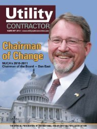 View Full February PDF Issue - Utility Contractor Online