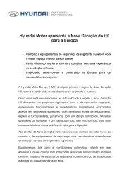 Hyundai Motor apresenta a Nova Geração do i10 para a Europa