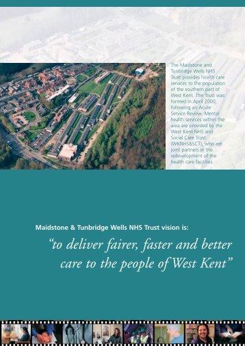 Memorandum of Information - Maidstone and Tunbridge Wells NHS ...