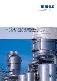 ROHÖLENTWÄSSERUNG - MAHLE Industry - Filtration