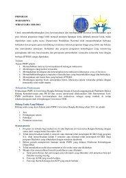 PROGRAM MAHASISWA WIRAUSAHA UBB 2011 Untuk ...