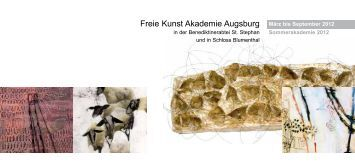 Freie Kunst Akademie Augsburg