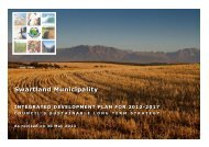 2017 as revised by Council on 30 May 2013 - Swartland Municipality