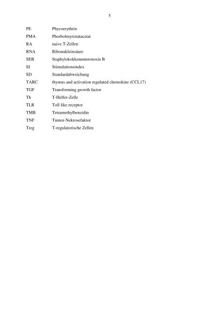 CCL18 und Allergie: Die Stimulation dendritischer Zellen mit CCL18 ...