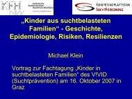 """""""Kinder aus suchtbelasteten Familien"""" - Geschichte ... - Vivid"""