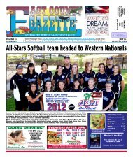 July 26 - East County Gazette