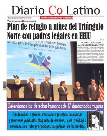 Edición 14 de Noviembre de 2014