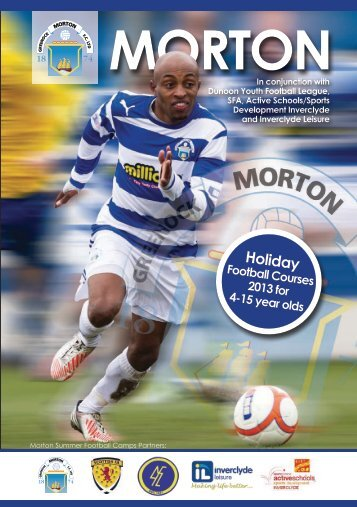 Morton Summer Camps 2013 Brochure - Greenock Morton ...