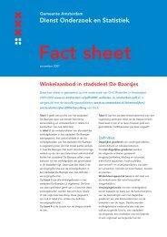 Winkelaanbod in stadsdeel De Baarsjes - Onderzoek en Statistiek ...
