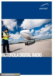 MOTOROLA DIGITAL RADIO - Zenitel