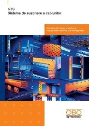 KTS Sisteme de susţinere a cablurilor - OBO Bettermann