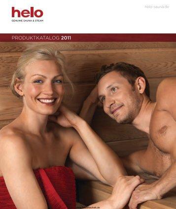 Katalog von Helo Sauna