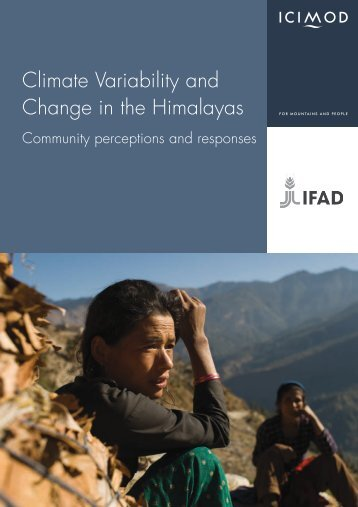 Climate Variability and Change in the Himalayas ... - Gender Climate