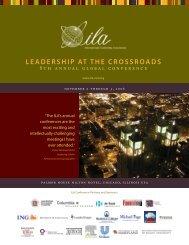 leadership at the crossroads - International Leadership Association
