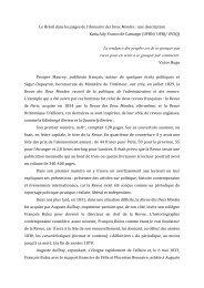 Le Brésil dans les pages de l'Annuaire des Deux Mondes : une ... - IEL