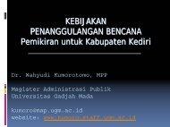 bencana - Kumoro.staff.ugm.ac.id - Universitas Gadjah Mada