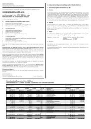 Gemeindeversammlung vom 7. Juni 2012 / Antrag und Weisung