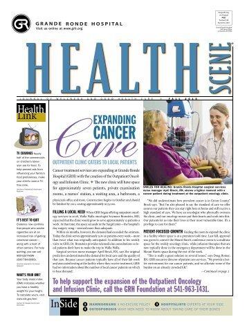 Health Scene - Fall 2010 - Grande Ronde Hospital