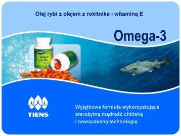 Omega-3 - Tiens