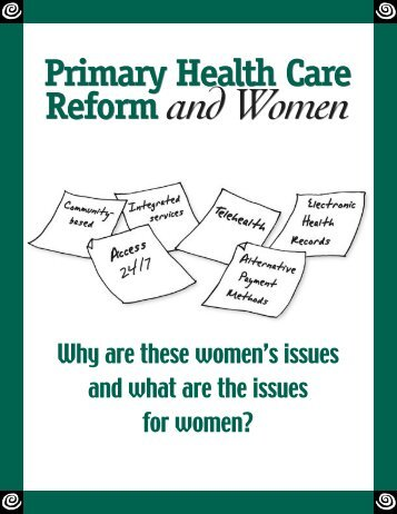 Primary Health Care Reform and Women - The National Network on ...
