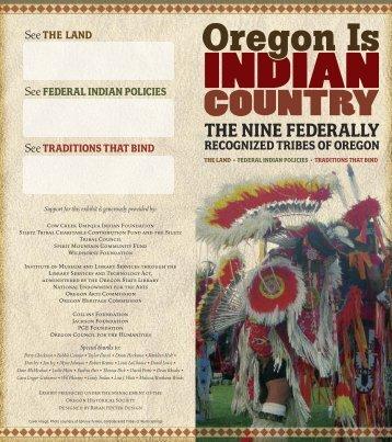 THE NINE FEDERALLY - Oregon Historical Society