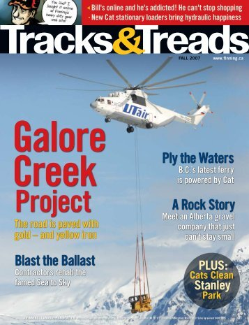 A Rock Story Ply the Waters Blast the Ballast - Finning Canada