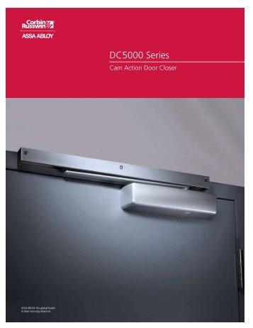 DC5000 Series - Corbin Russwin