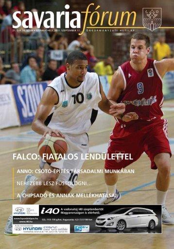 FALCO: FIATALOS LENDÜLETTEL - Savaria Fórum