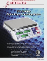 DS Series - Scale Manuals