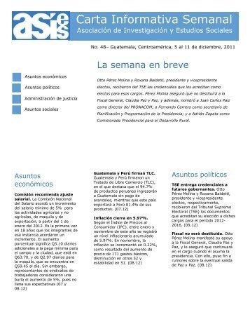 482011 Carta Informativa Semanal No 48.pdf - Asociación de ...