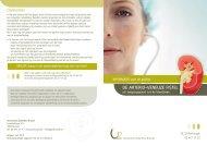 de arterio-veneuze fistel - UZ Brussel: Patientinfo