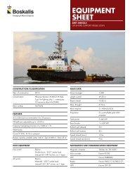 Offshore support vessel (OSV)